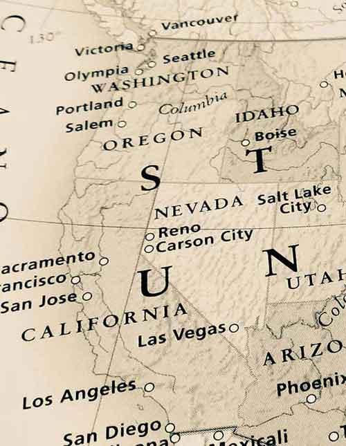 Historic Map USA