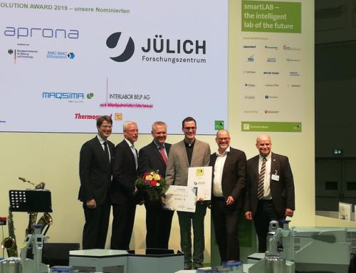 Award für Laboroptimierung 2021 – Start der Bewerbungsphase
